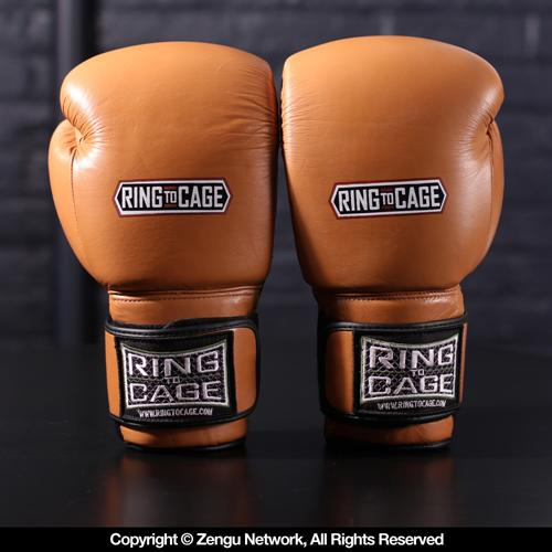 Ring To Cage Deluxe MiM Foam Sparring Gloves with Safety Strap